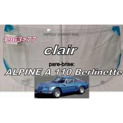 pare-brise RENAULT ALPINE...