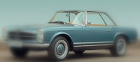 MERCEDES PAGODE W 113 1963/71